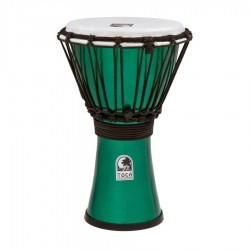 "Toca TFCDJ-7MR Djembe 7"" Freestyle Colorsound Metallic Rojo"