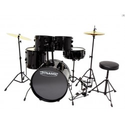 Gewa Batería Dynamic One Set 1 Black