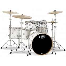 PDP by DW Concept Maple CM6 Pearlescent White