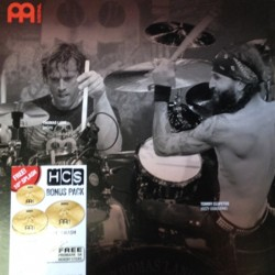 Meinl Set Platos HCS Cymbal Set Starter 2 + Splash + Baqueta