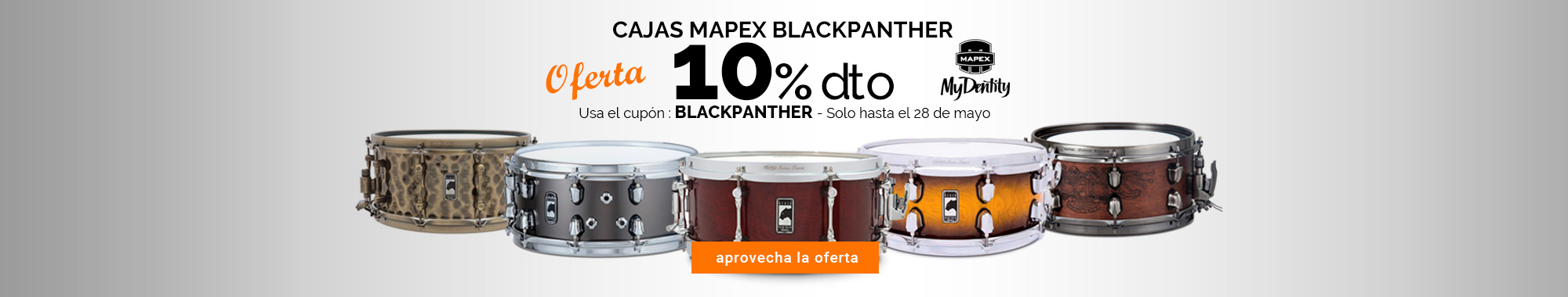 10% dto Mapex Blackpanther