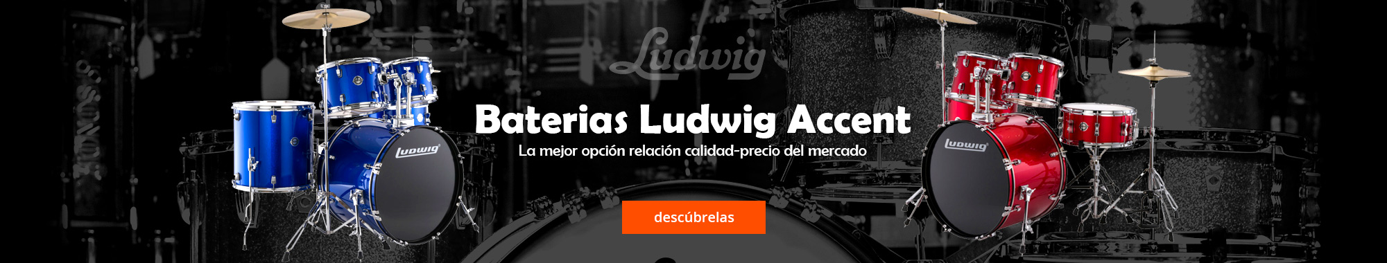 Baterias Ludwig Accent