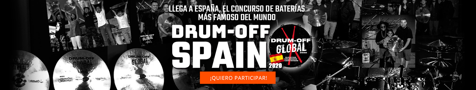 Drumm Off Spain ¡participa!