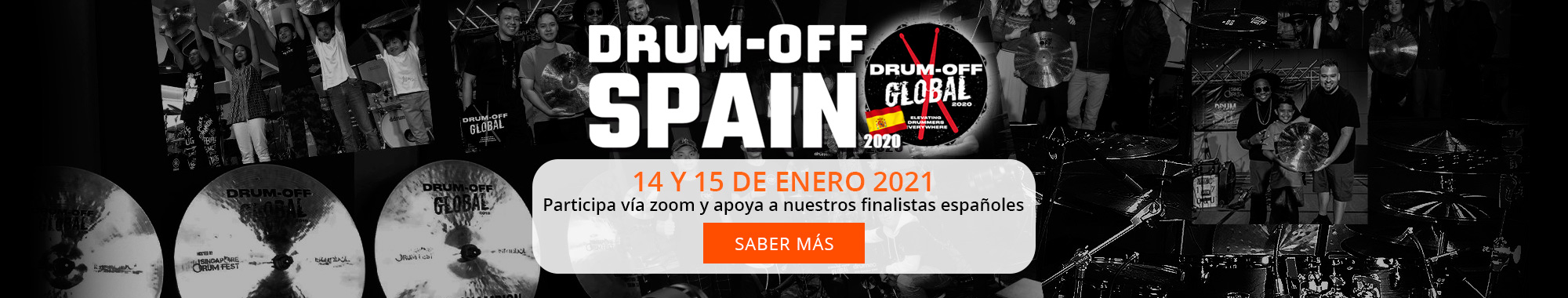 Finalistas Drum off Global