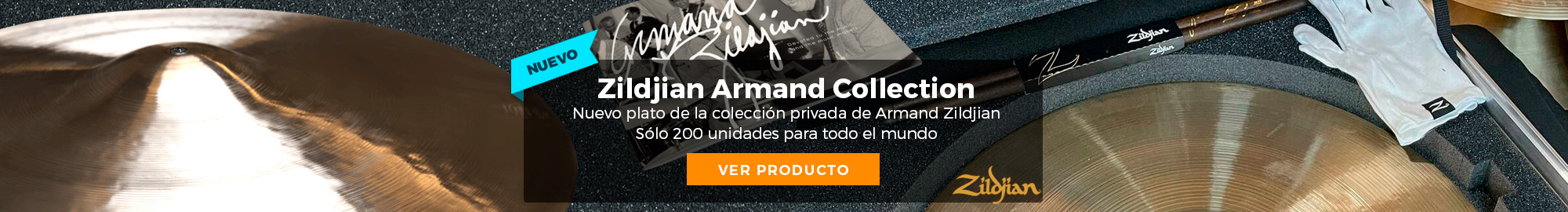 Zildjian Armand Collection