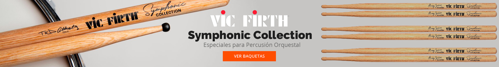 Vic firth Symphonic Collection