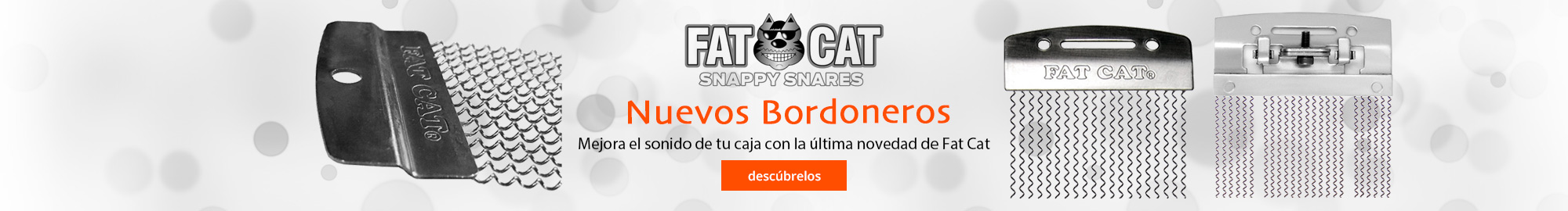 Nuevos bordoneros Fat Cat